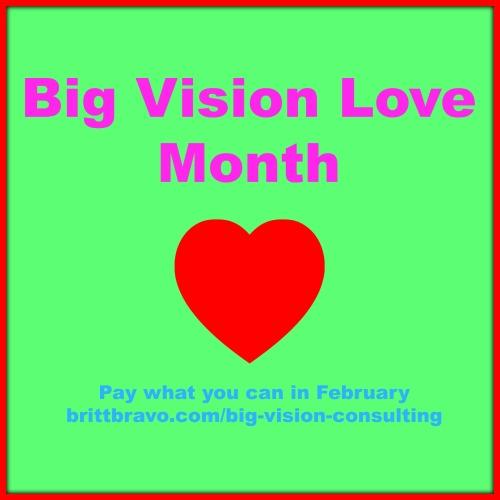 Big Vision Love Month